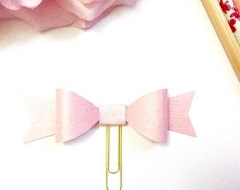 Planner Paper clips in Adorable Pink Shimmer and Gold Planner Accessories,Planner Paperclips collection