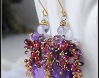 The Violetta......earrings