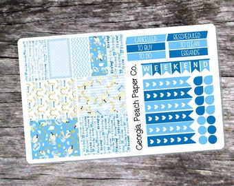 It's a Boy Themed Planner Stickers - Made to fit Vertical Layout