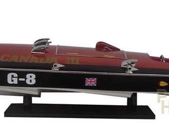 Miss Canada III Replica Wooden Race Boat