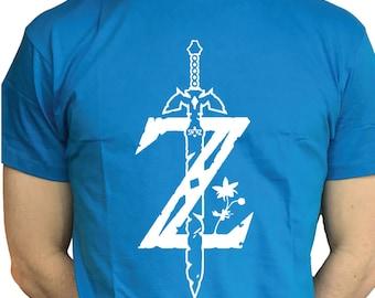 Legend Of Zelda Breath Of The Wild Nintendo Zelda Shirt!!!