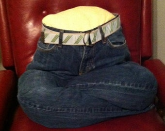 Pet bed, Dog, cat , Up cycled jeans pet bed, recycled hand made bed, Puppy bed