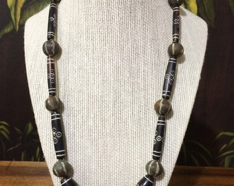 22''African Bead Necklace.