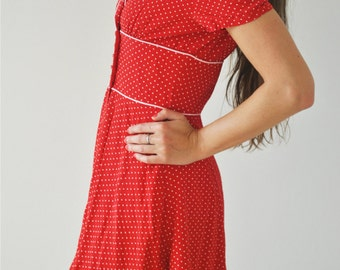 Retro Vintage Rockabilly Dress