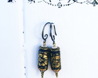 Autumnal Etched 40 Earrings