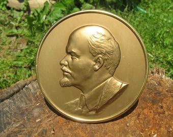 Vintage Bust of Lenin-table souvenir