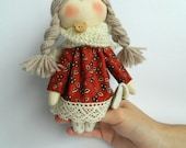Tilda doll little doll Doll angel Home decor.