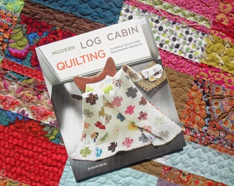 Modern Log Cabin Quilting / 25 Simple Quitls & Patchwork Projects / by Susan Beal