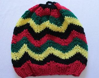 Rasta Knitted Hat