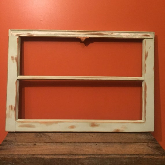 Clearance vintage window frame window frame without glass - Picture frame without glass ...