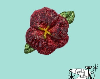 The Hibiscus brooch
