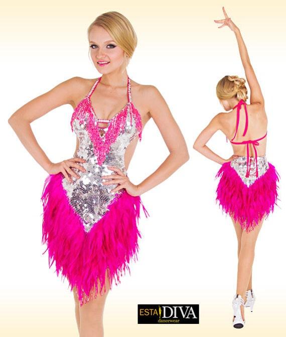Popolare Vestito di Samba Pluma Vestido Abito da ballo di Samba QH62