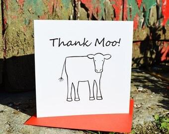 Thank Moo Card
