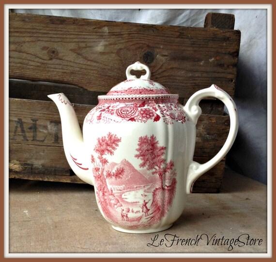 Vintage Cafetiere Villeroy And Boch Burganland Design Coffee