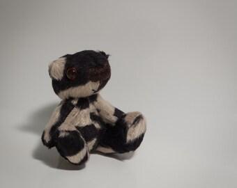 Handmade OOAK Miniature Teddy Bear - Little Splodge