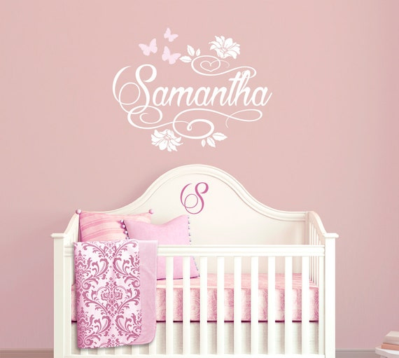 personalized custom name vinyl wall decal sticker for nursery