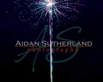 Firework Archival Photo Print