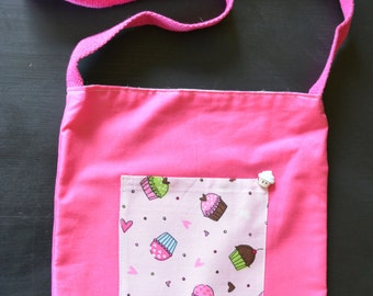 Girls Cupcake Purse / Bag