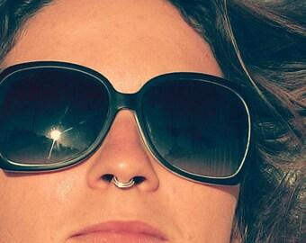Septum ring,Nose Rings,Septum Ring 22g ,20g,18g,16g,14g,Piercing Nose,Ear,Tragus,Cartilage,Earrings,Sterling Silver 925,Handmade