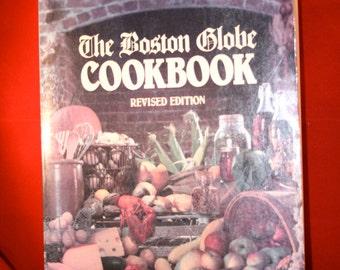 1981 The Boston Globe Cookbook//Vintage Cookbook Revised Edition