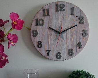 Wall clock handmade Ref: 015