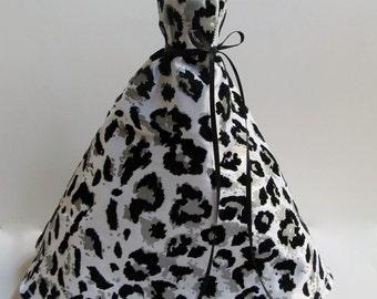 Cheetah Ballgown