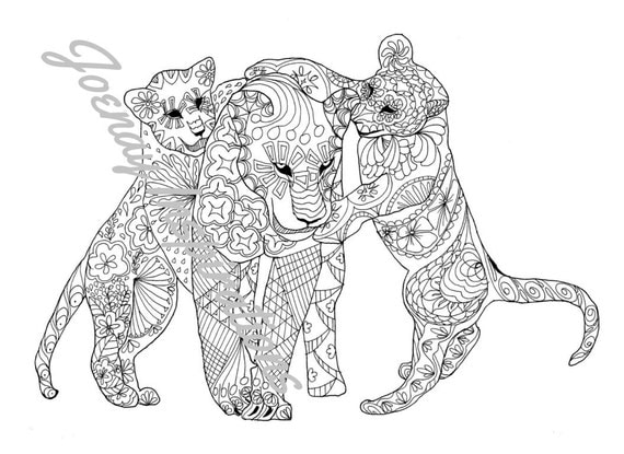 Coloring Book Animals Printable Coloring Pages