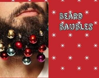 Razzle Dazzle Xmas Beard Baublesx