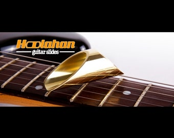 Hoolahan guitar slide brass