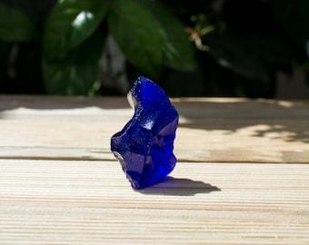 Amazing Blue Organic  Transparent Glass