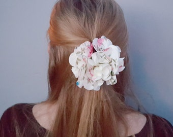 Flower Jaw Clip, Flower Hair Accessories, Wedding Hair Flower, Flower Hair Barrette ,Holiday Gift