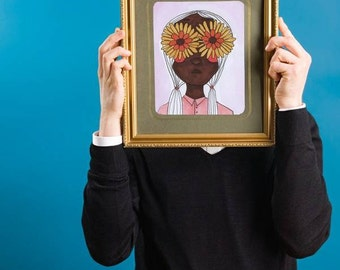 Sleepwalking - Digital Art Print