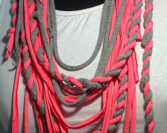 SPORT fabric necklace