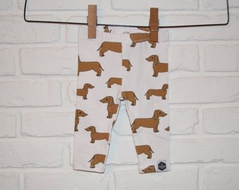 SALE || Wiener Dogs - Baby Leggings, Toddler Leggings, Dachshunds