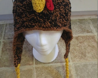 Crochet Chicken Hat