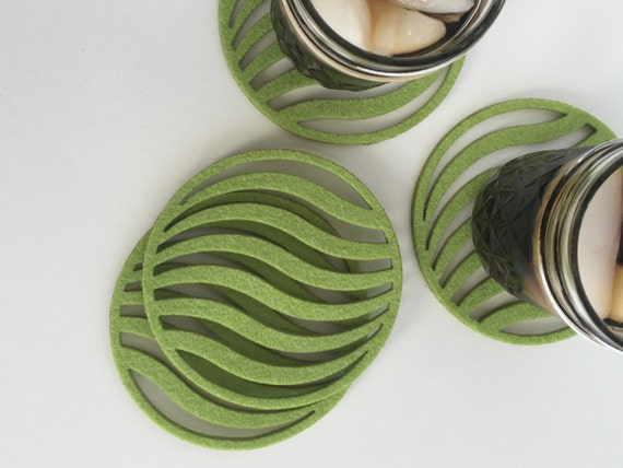Coasters Drink Coasters Cool Coasters Waves Coasters