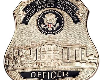 US Secret Service Uniformed Division Officer's badge