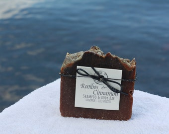 Rooibos & Cinnamon - Handmade Bar Soap