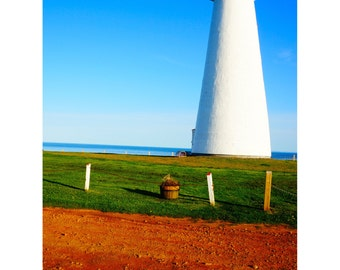 Lightouse Photography, Prince Edward Island Art, Canada Prints, Fine Art, Wall Decor, Bright, Summer, Travel Photography, PEI - Point Prim