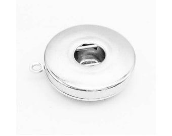 DIY Snap Jewelry 18mm DIY Snap Base Connector Single Ring for Earrings, Necklaces, Bracelets.  Fits 18 Ginger snaps, Magnolia & Vine DIY3-B