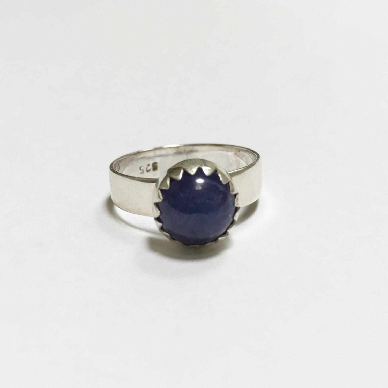 tanzanite silver ring made in australia ring size