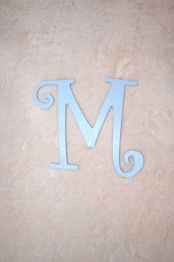 8 Painted Nursery Letter Boy Baby Door Hanger Boy Wall