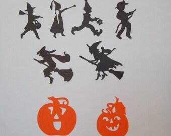 Halloween die cuts - Halloween silhouettes
