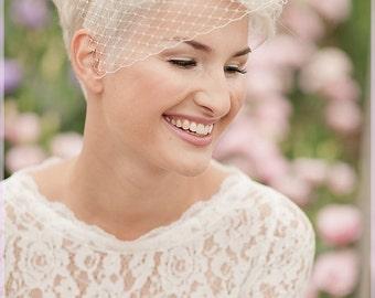 Hair accessories bridal Wedding Veil veil Bella 11 ivory