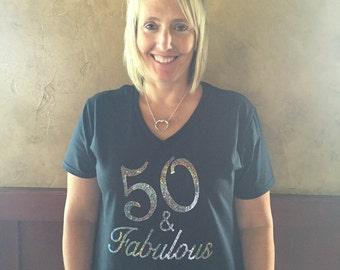 50 & Fabulous Shirt