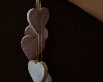 Dangling Hearts Decor