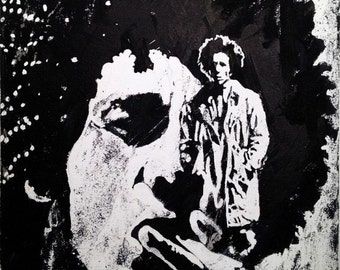 Bob Marley Original Fine Art, Original Bob Marley Painting
