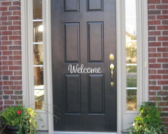 Welcome Wall Decor welcome wall decal   etsy