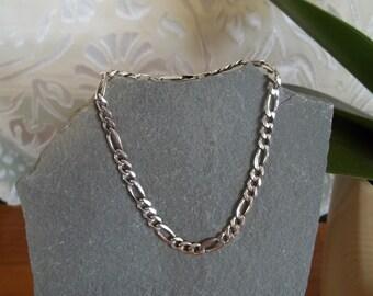 Vintage Sterling Silver Italian Link Bracelet