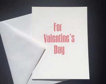For Valentine's Day You Can Put It In My Butt! Adult Greeting Card